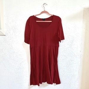 Deep Red Rue 21 + plus Dress size 1X